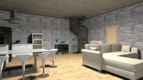 essai 1 - Living room - by emmataratatata ta