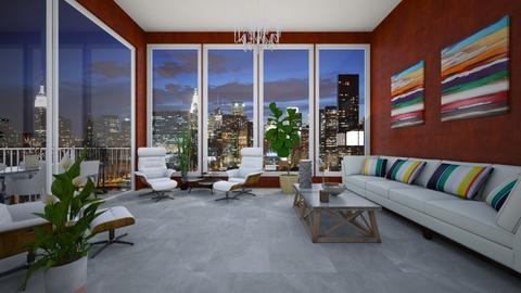 Uptown - Living room - by VeroDale