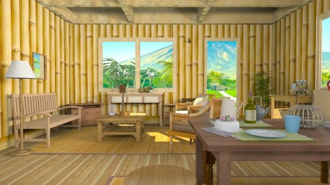 Filipino Country House - Country - Living room - by yourjieee