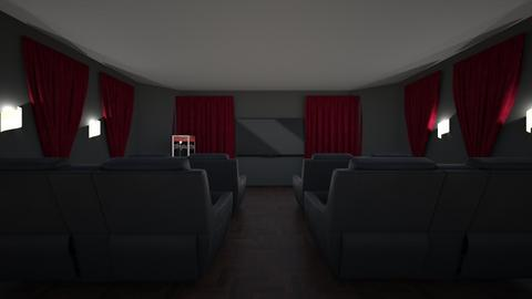Movie Room - by guineapiglover1