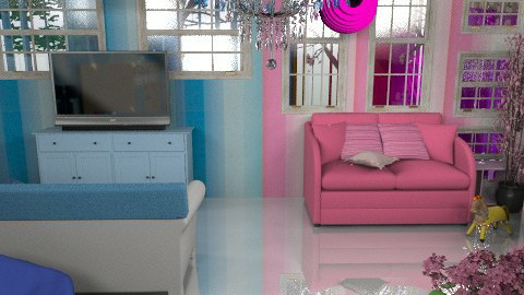 Opposites just DON'T attract - Modern - Kids room - by Your well wisher