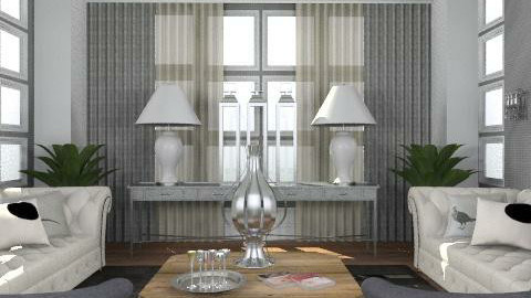 Grey - Eclectic - Living room - by du321