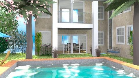 big build 2 from Miss Pink - Modern - Garden - by Bibiche