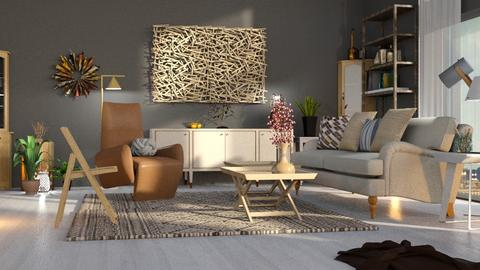 Blanket - Living room - by ZuzanaDesign