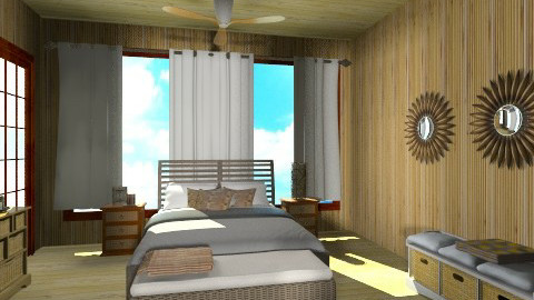 pacific bedroom - Rustic - Living room - by ANAAPRIL