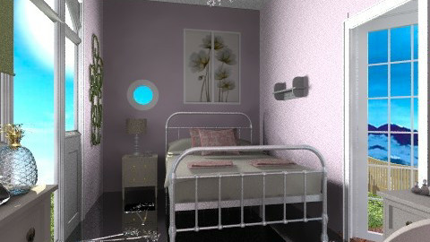 Guestroom - Glamour - Bedroom - by milyca8