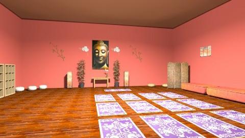 Yoga Studio - Minimal - by Evawright
