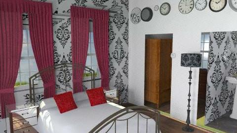 drumbuie bedroom2 - Retro - Bedroom - by pinklilith