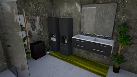 Industrial Bathroom - Masculine - Bathroom - by llaurenpie