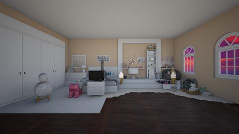 Lizzie 7 years old - Feminine - Kids room - by BeaaBell