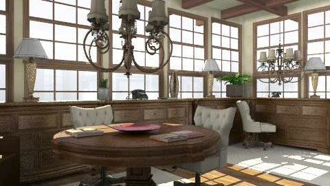 study - Classic - Office - by trees designs