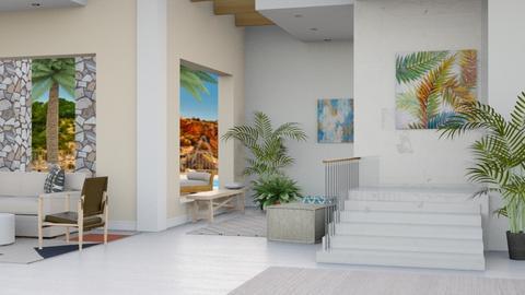 Caribbean Resort - Modern - Living room - by millerfam