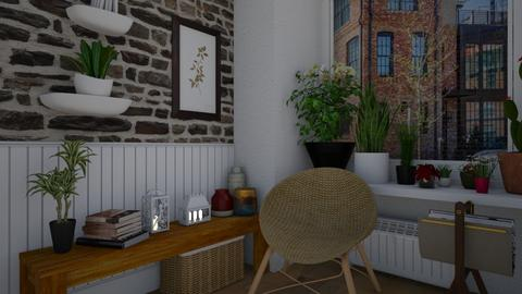 Cozy Lil Corner - Living room - by nonanymous_