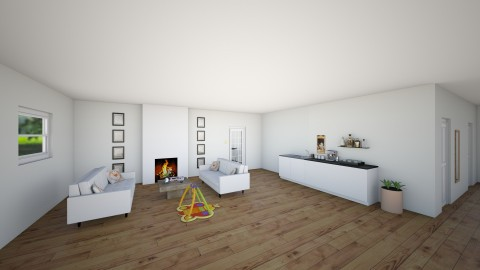 family house - by theresarosebaldwin
