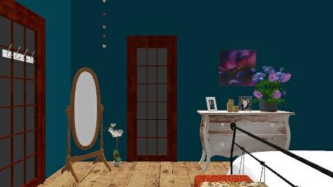 room 3 - Bedroom - by elainny_0