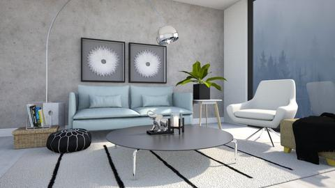 Living - Modern - Living room - by gabriellemae19