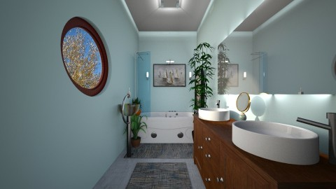 THD_l1LM8_bath_jstalcup - Bathroom - by JeAnna M Lewis Stalcup