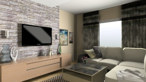 New living room - Modern - by slavica86