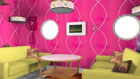 Retro touch - Retro - Living room - by ioanavladut7