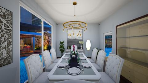 Modern LuxuryContemporary - Dining room - by anirah