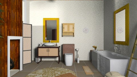 Mostly natural - Eclectic - Bathroom - by mrschicken