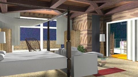 inside night - Rustic - Bedroom - by APInteriors