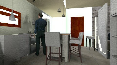 kitchen - Minimal - Kitchen - by bidago