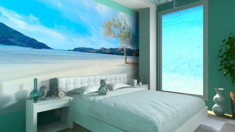 Sea  - Modern - Bedroom - by Phoebe Ficer