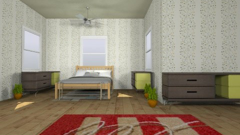 Mitchell Silkman - Bedroom - by Mitchell Silkman