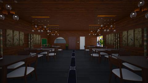 restaurante - Dining room - by fzajuan