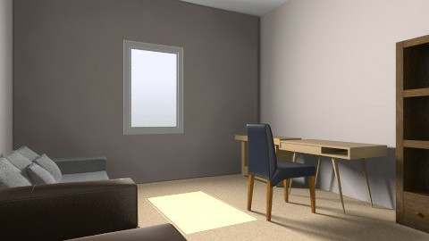 study room 4 by 45 2 wish - Minimal - Office - by montycristo