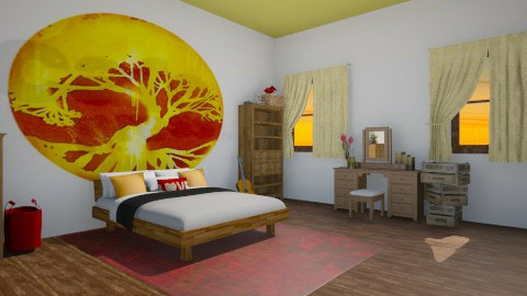 Amity - Rustic - Bedroom - by HGranger2