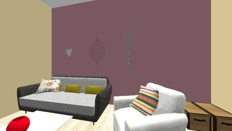 Spring has Sprung - Living room - by IAMLUMPYSPACEPRINCESS