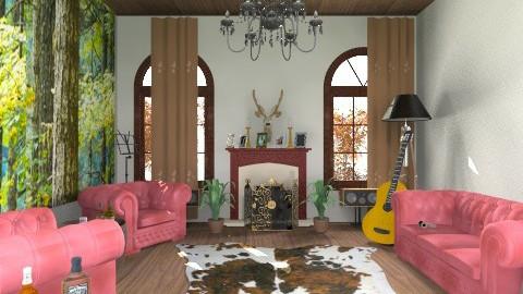 country - Living room - by jujulianamara
