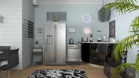 Modern Kitchen - Kitchen - by fenwayb