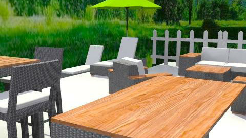 Outdoor space - Classic - Garden - by hwest