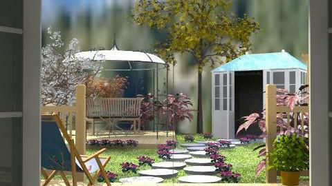 Through the door - Classic - Garden - by Bibiche