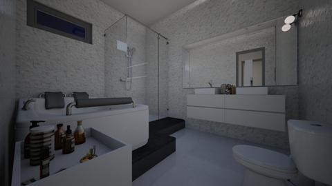 apartament - Modern - Bathroom - by raissasevero