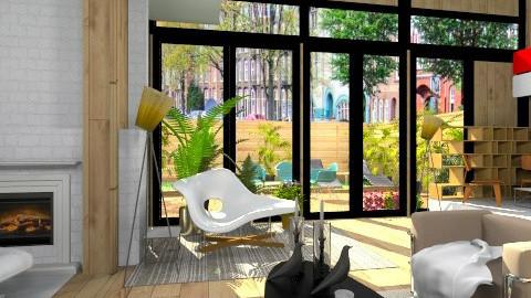 eamstest2 - Retro - Living room - by mikaela7