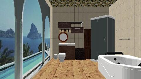 Modern kitchen - Vintage - Bathroom - by troquera25