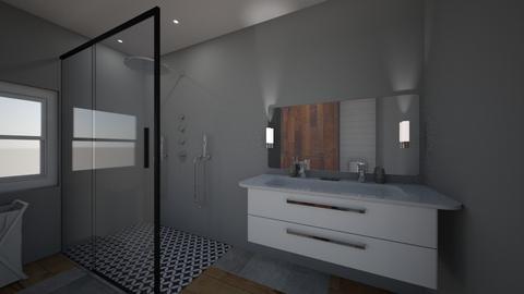 Master Design 2 - Bathroom - by swalker3186