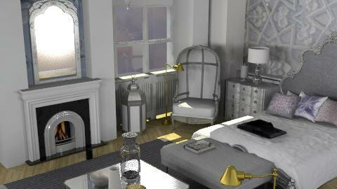 paris apartment2 - Classic - Bedroom - by naki1
