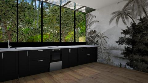 jungle - Kitchen - by anjaam