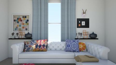Tyler Oakley living room - Living room - by Cora_da_B0ss