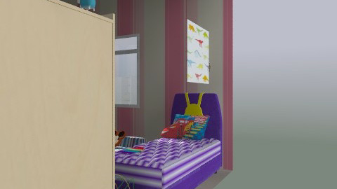 boy and girl bedroom - Bedroom - by chelsiemia