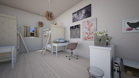 Dorm Room - Modern - by muffinbean