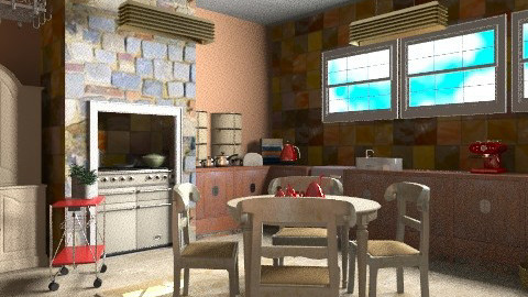 Kitchen corner - Rustic - Kitchen - by mrschicken