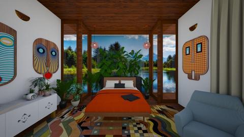 Mid Century Mod Bedroom - Bedroom - by kenderisgreat