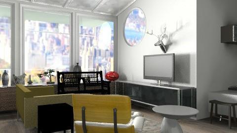 modern living  - Retro - Kitchen - by austinajk