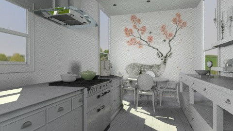 Just remove refrigerator - Feminine - Kitchen - by Reported